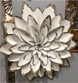Metal Wall Art - Single Flower - Large 67cm