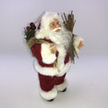 Santa - Wearing Classic Santa suit - 18cm - CLEARANCE ITEM  Beautifully designed Santa figurine wearing classic white Santa suit with Classic Coca Cola Santa face 4 Models available
