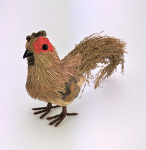 "Hen ""Red Eye"" (Chicken) - 30cm  Beautifully designed Bristlestraw Red Eye Hen"