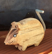 Wicked Wooden Mouse