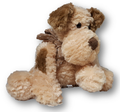 This adorable plush puppy dog with make a great friend for anyone as a get well or just because or I love you.