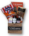 A sampling of foods from Belleville, Quinte West, Stirling, Brighton and Prince Edward County.  This basket is perfect for the local resident or those arriving new to the area with maple syrup, jam, chocolate and snacks.