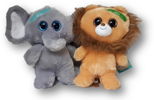 Get well plush with bandaid.  Assorted animals.
