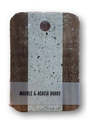 Cutting board - marble/acacia