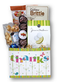 Show your appreciation for a job well done.  This box of shareable (or not!) treats is a great way to show your gratitude to an individual or group.