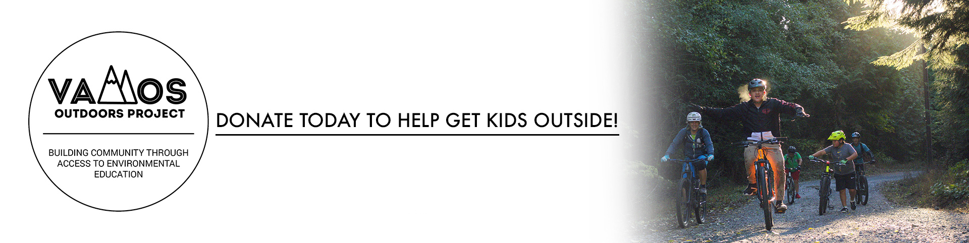 Donate to Vamos and Help Get Kids Outside