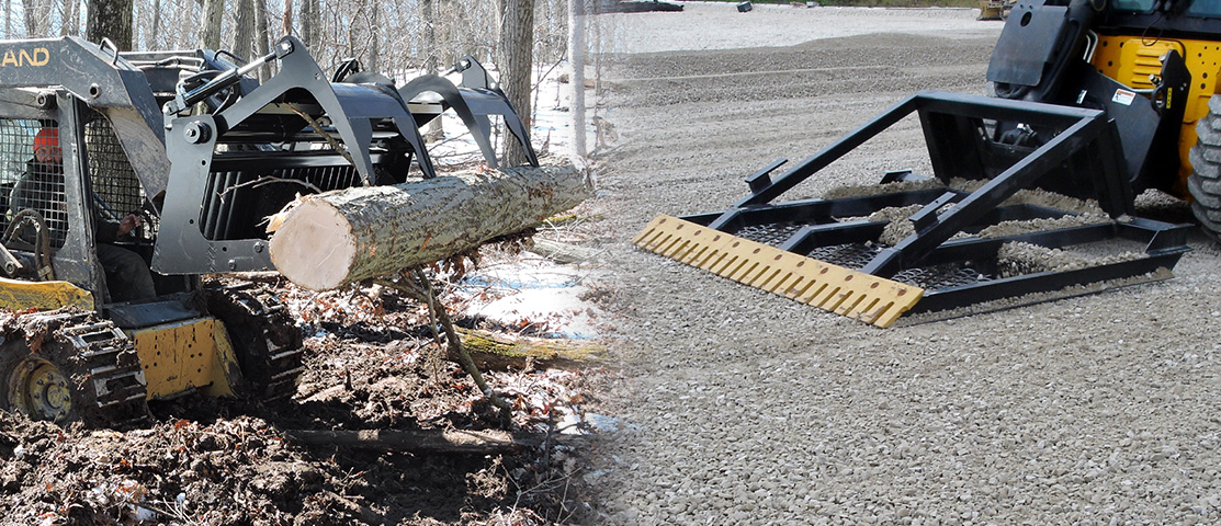 Berlon Attachments for Skid Steer Loaders