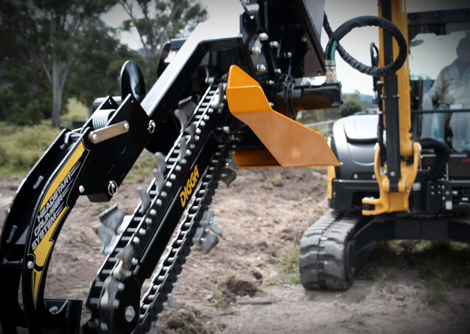 Skid Steer or Excavator Auger Attachments and Accessories from Digga Attachments