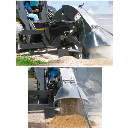Bradco Concrete Saw in Action