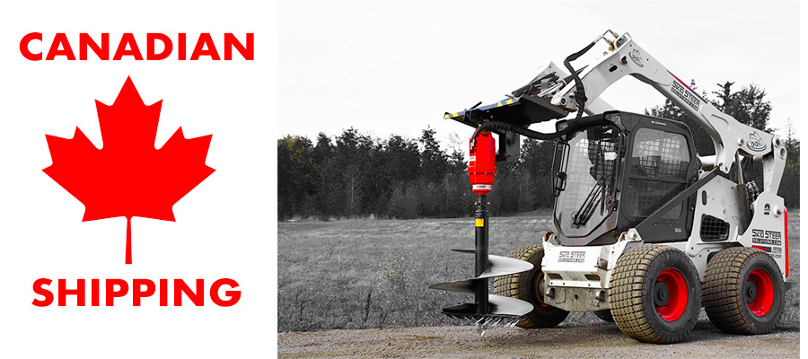 Skid Steer Attachments shipped to Canada with Skid Steer Solutions