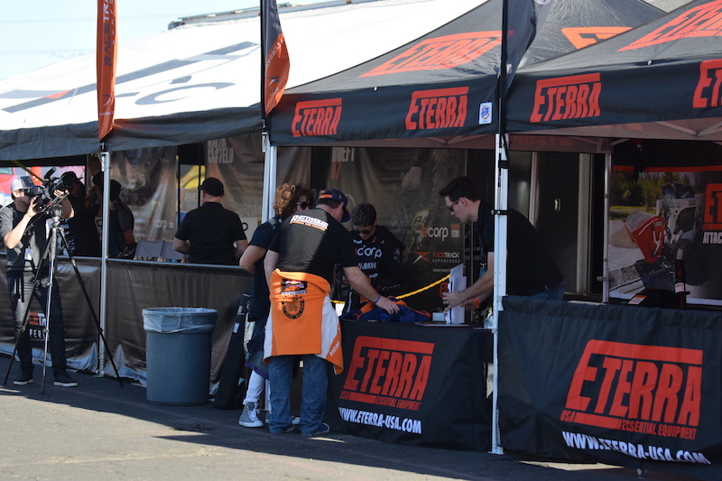 Eterra Customers at Supercross