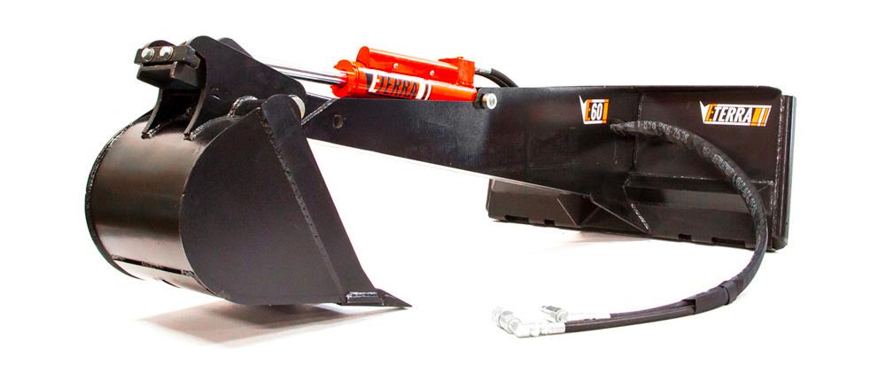 Eterra E60 Skid Steer Backhoe Attachment