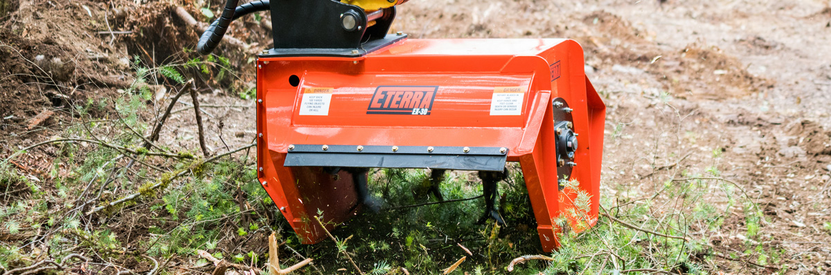 Eterra EX-30 Flail Mower for Excavators
