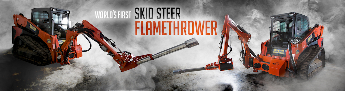 Eterra Skid Steer Flamethrower