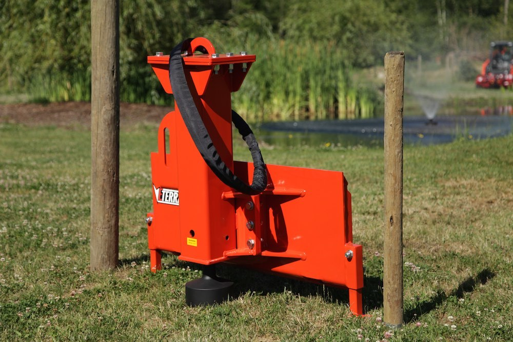 How To Install Fence Posts With A Breaker Style Post
