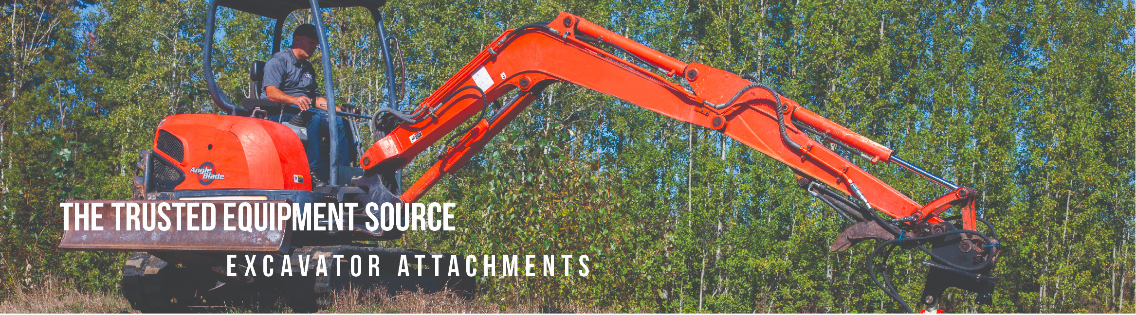 Shop Excavator Attachments online at Skid Steer Solutions. Wide range of tough and rugged mowers, auger drives and more.
