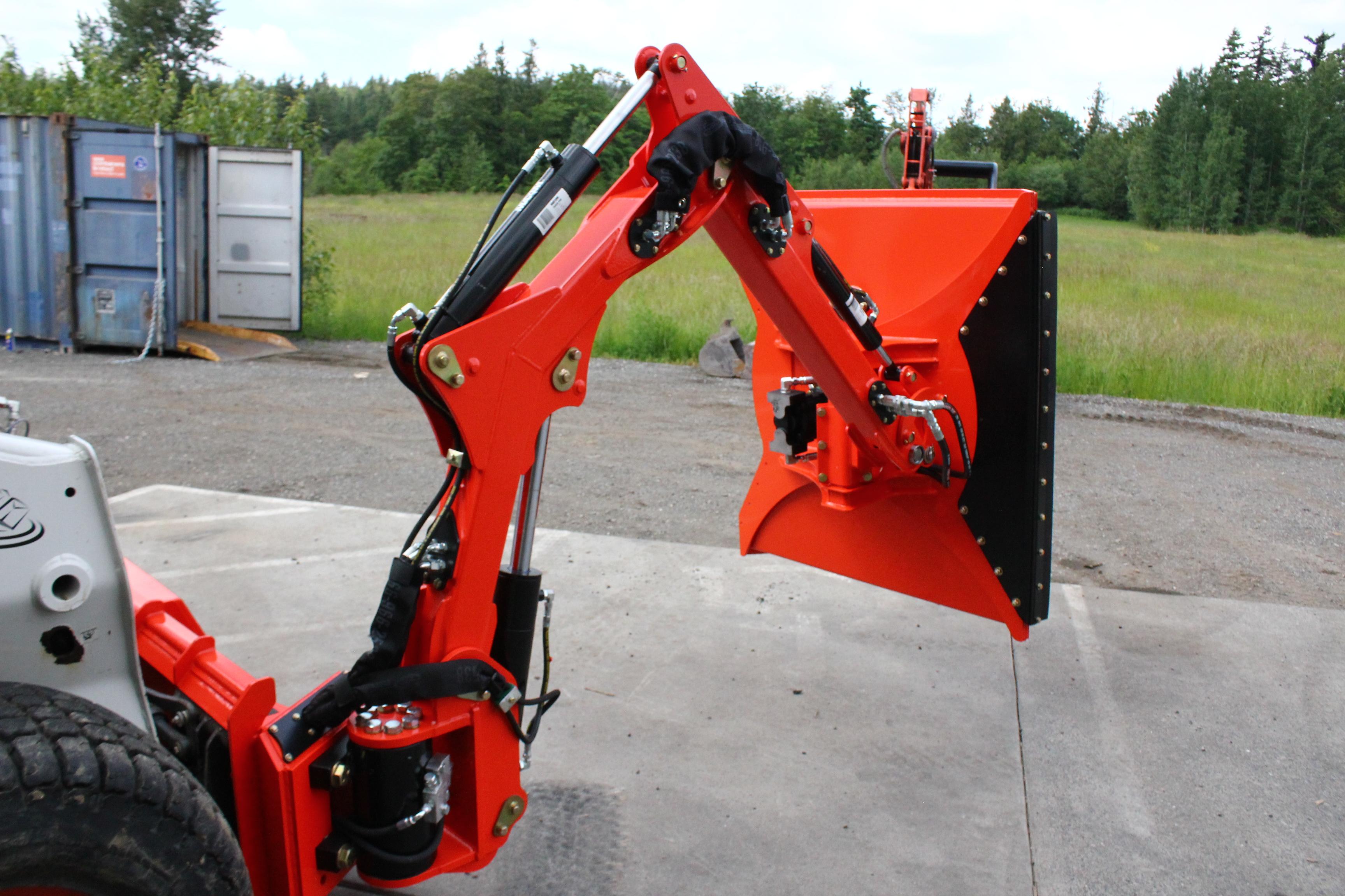 "Cyclone Rake For Sale >> Meet the Cyclone 48"" Rotary Mower for Excavators - Photo ..."