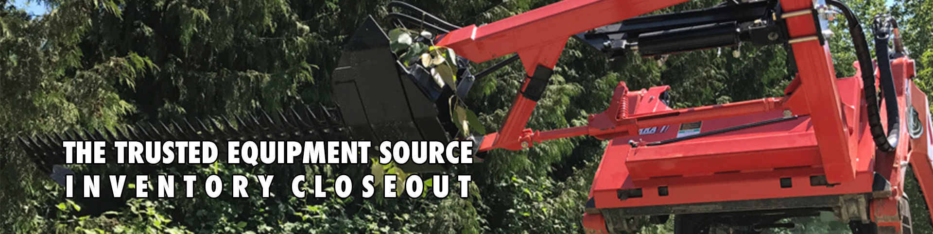 Order Used and Closeout Skid Steer Attachments from Skid