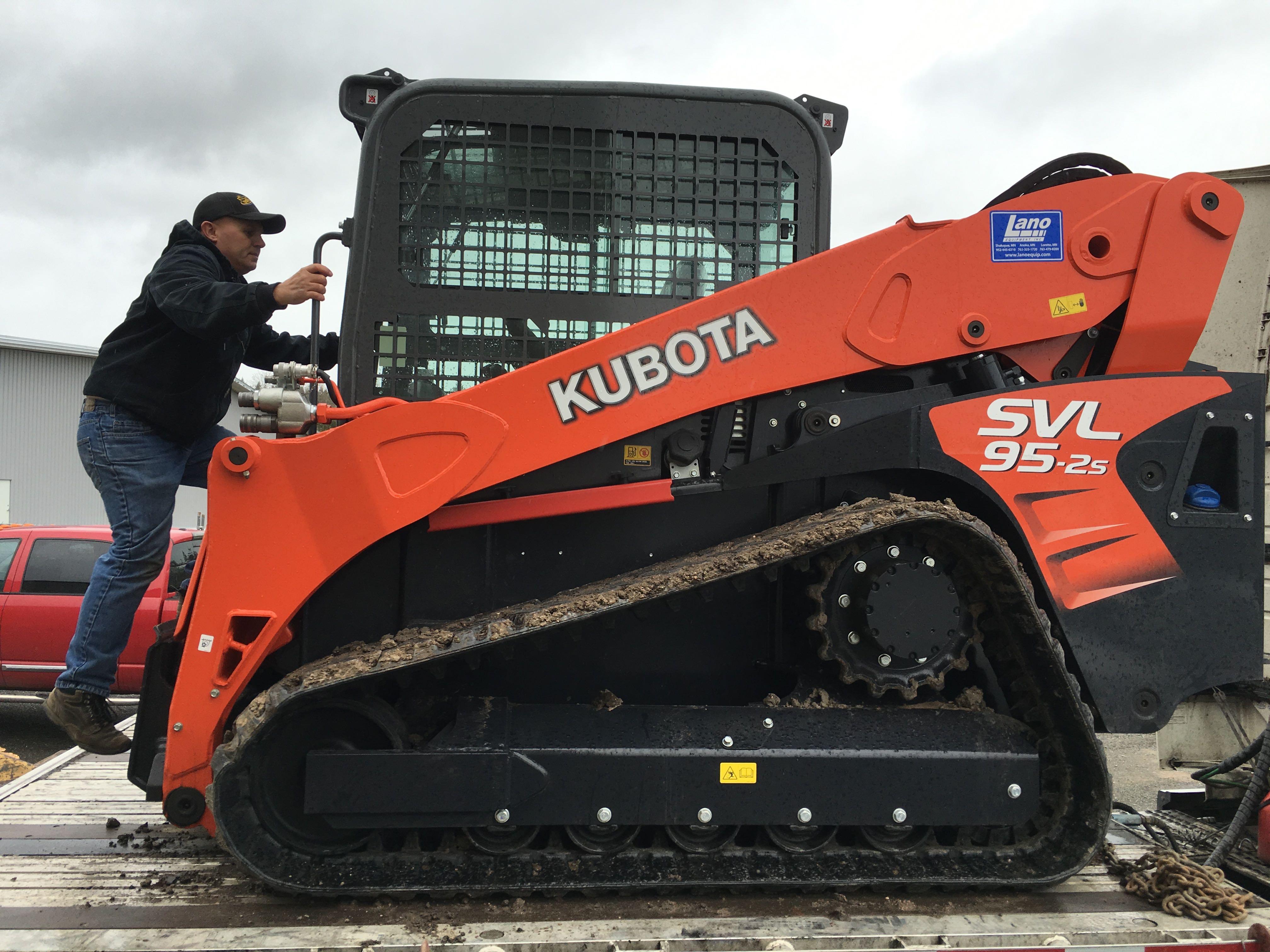 Landscape Rake Vs Box Blade : Skid steer solutions kubota svl s