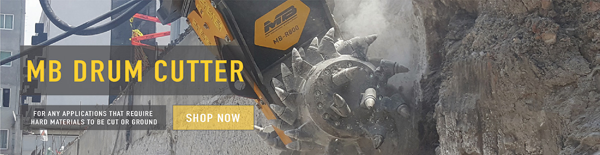 MB Drum Cutter Attachments available online now, call for price
