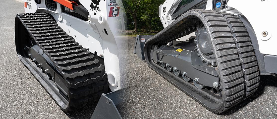 McLaren Skid Steer and Excavator Rubber Tracks, Tires.