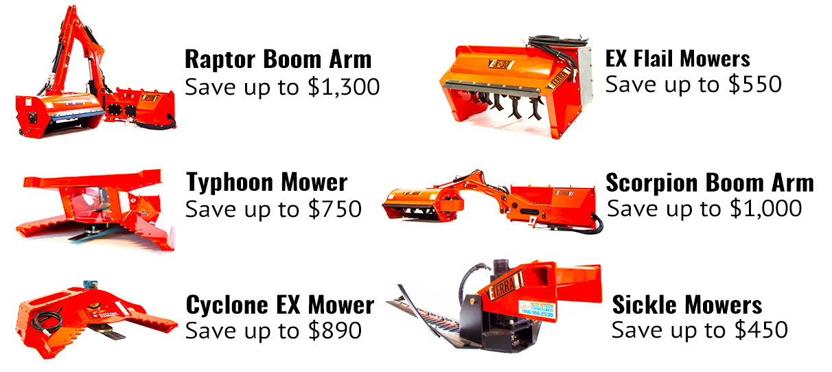 Eterra Mower Savings