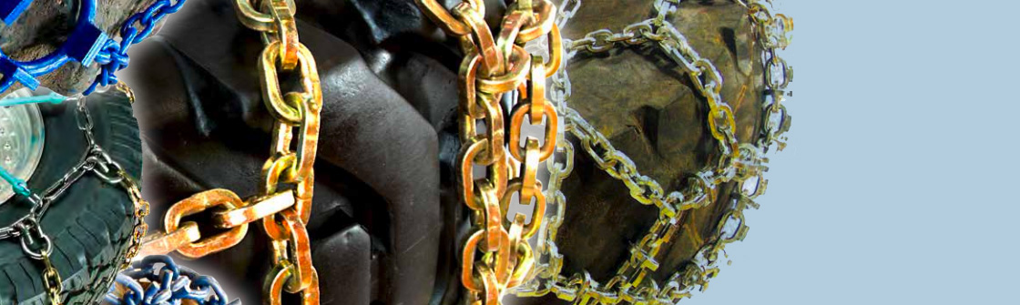 Tire chains for skid steer loaders from Quality Chain
