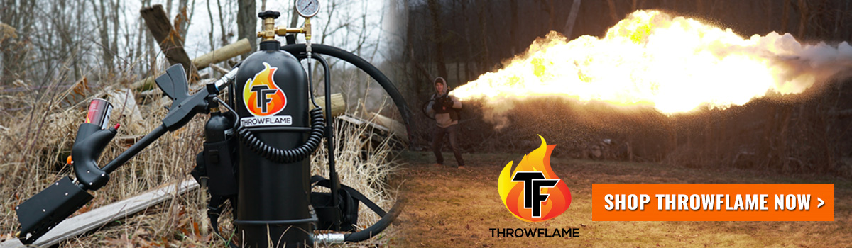 Throwflame Handheld Flamethrowers