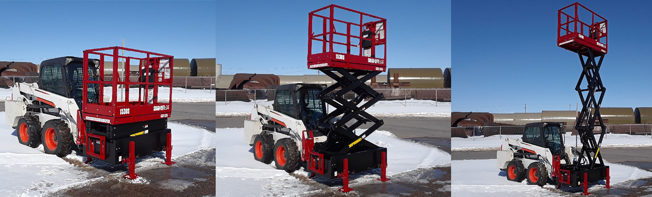 Skid-Lift Skid Steer Scissor Lift