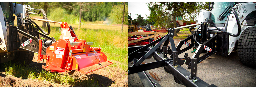 Run Tractor Implements with your Skid Steer Loader