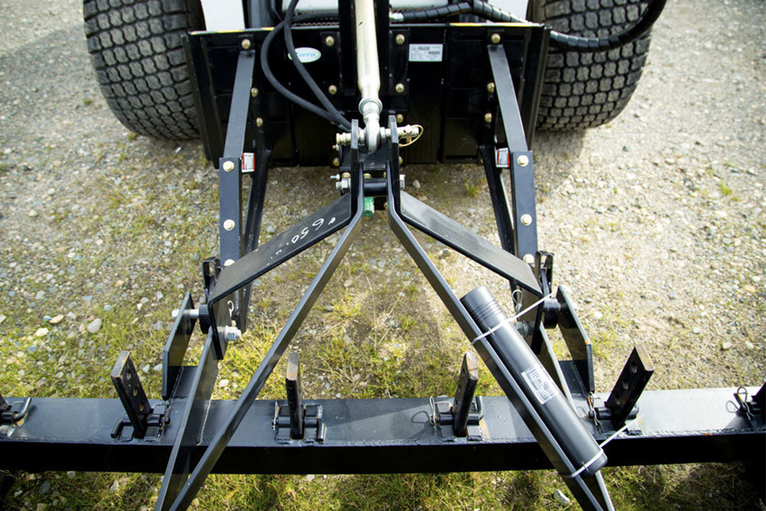 Fixed and Motorized 3-Point Adapters for Skid Steer Loaders