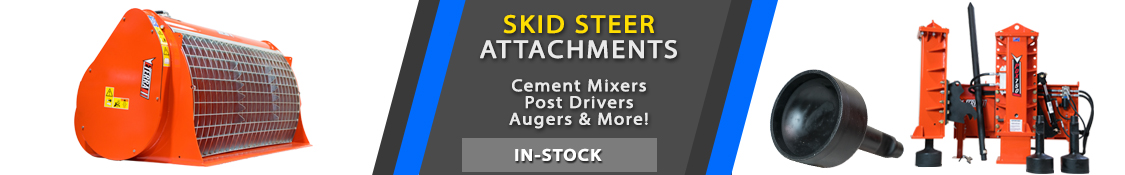 Skid Steer Attachments from the source SkidSteerSolutions.com