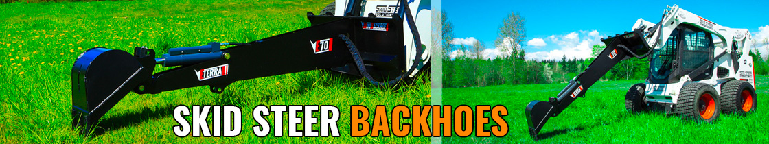 skid steer backhoes