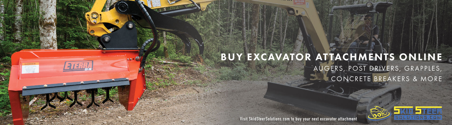 Excavator Attachments for a Wide Range of Jobs | Mini and Compact EX
