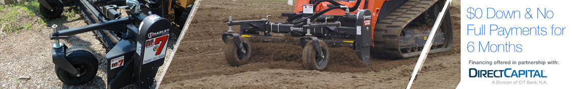Soil conditioners and roto-tillers for Skid Steer Loaders