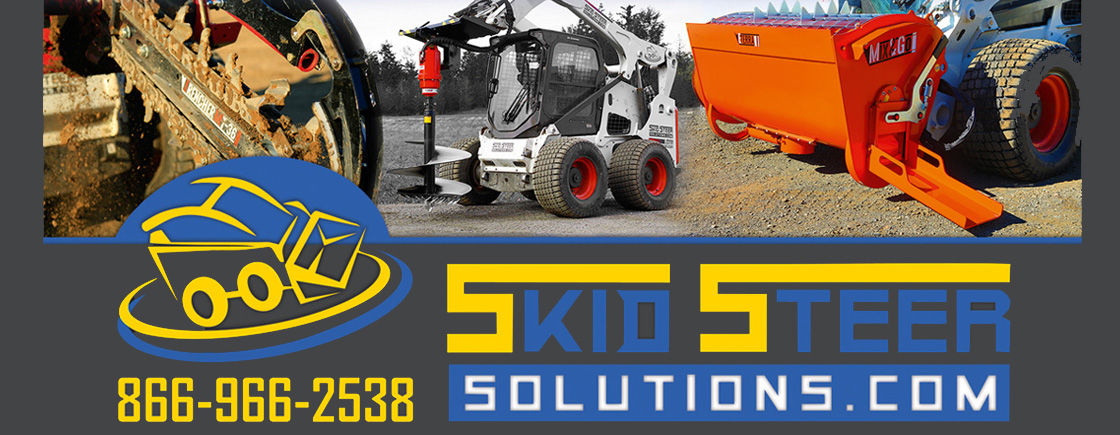 Skid Steer Solutions is your number one source for the finest Skid Steer Attachments and Accessories available anywhere