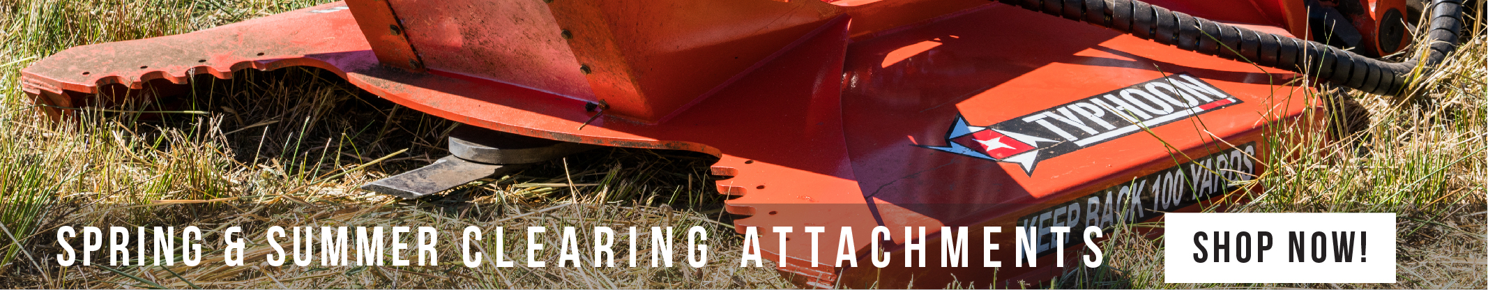 A premium collection of brush clearing attachment, grapples, hedge trimming and mowers for Skid Steer Loaders and Compact Track Loaders