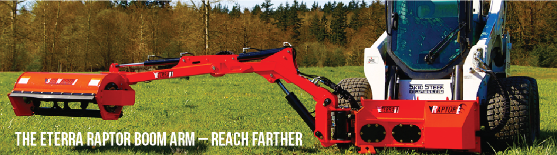 Eterra Boom Mower and Side-Work System