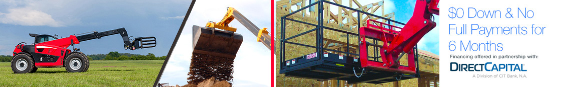 Wide selection of Telehandler Attachments and Accessories