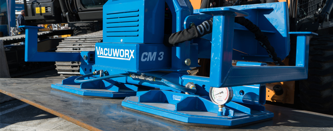Vacuum Lifting technology on your Skid Steer Loader and Mini Skid Steer from Vacuworx
