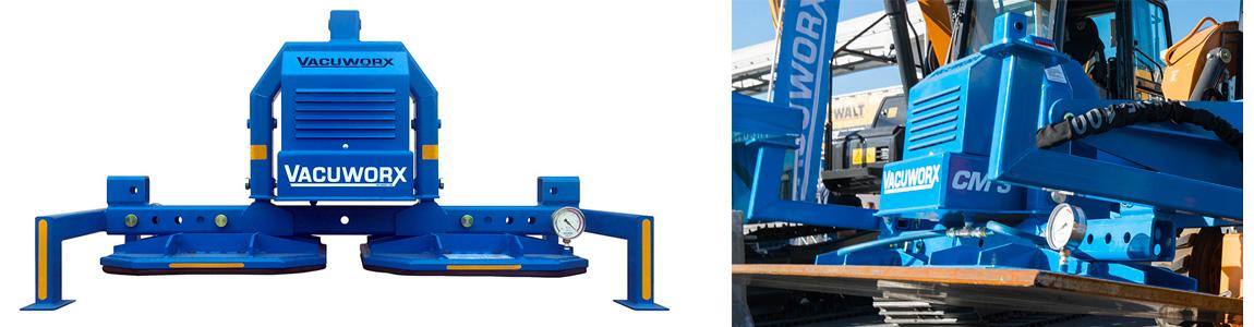 Vacuworx CM 3 Skid Steer Vacuum Lifting Attachment