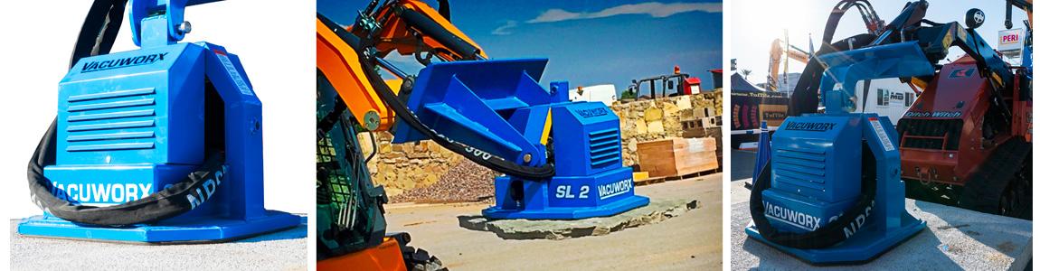 Vacuworx SL 2 Skid Steer Lifting Attachment