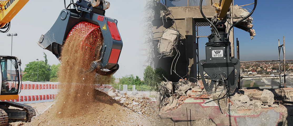 VTN Attachments for Skid Steer Loaders and Excavators
