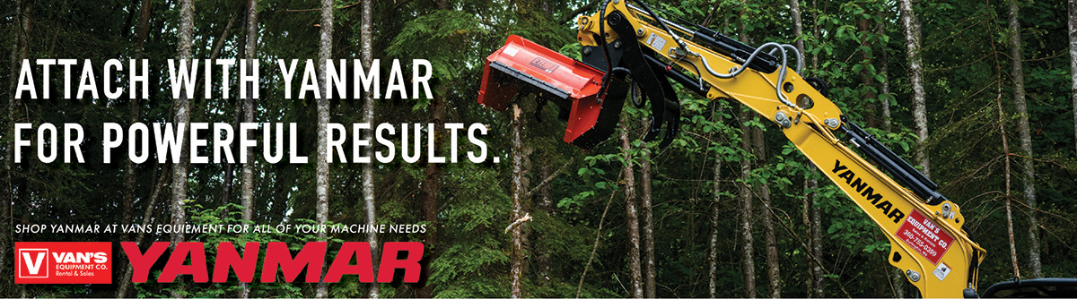 Shop excellent Yanmar Excavators at Vans Equipment