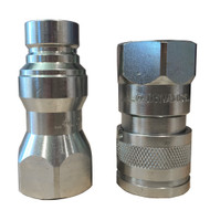 """Hydraulic Flat Faced Coupler 