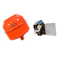 Eterra Cement Mixer Bowl and Flip Hitch Auger System
