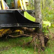 Brush Grabber Skid Steer Tree Spade Attachment Pulling Trees