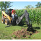 Brado Skid Steer 509B Backhoe Digging Action