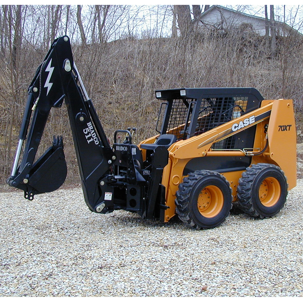 Bradco 511B Backhoe Attachment for Skid Steer Loader | Skid Steer