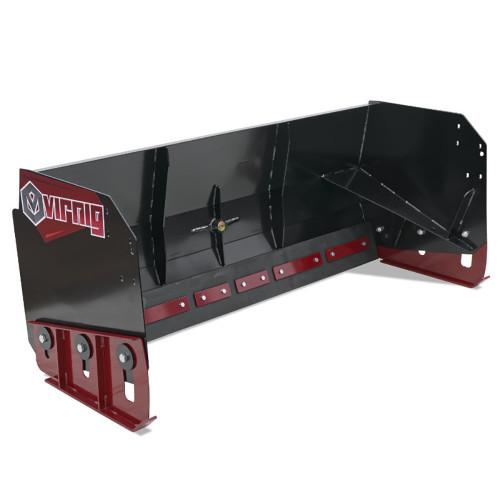 Virnig V60 Snow Pusher Attachment for Skid Steer Loaders
